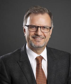 ILAE President Sam Wiebe